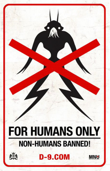 'District 9', póster y marketing viral