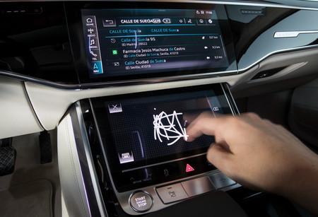 Audi A8 2018 MMI Touch response