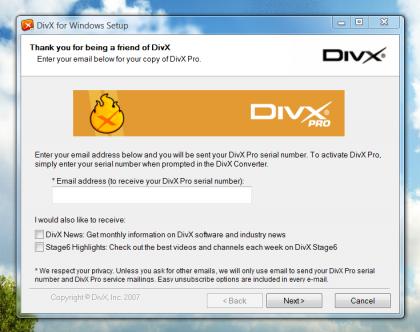 Descarga DivX Pro 6.8 gratis