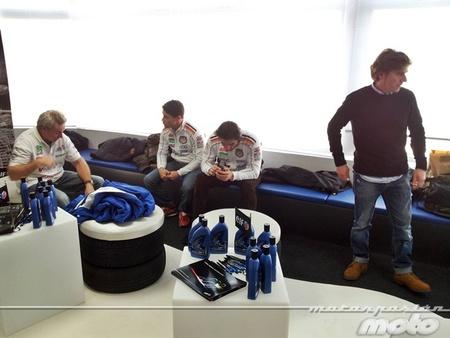 Wayne Gardner, Lucio Cecchinello, Oscar Haro y Herri Torrontegui
