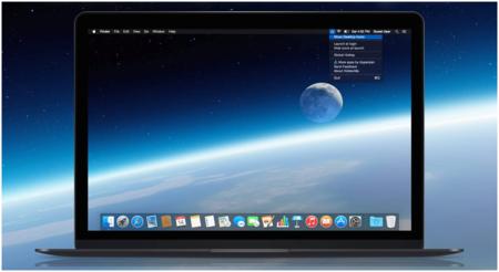 Cómo mostrar u ocultar todos los archivos del escritorio en OS X con un atajo de teclado
