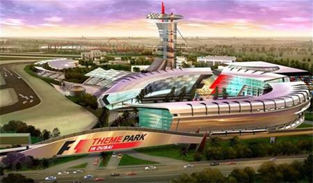 Llegan los Theme-Park de la Fórmula Uno