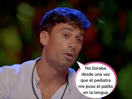 'La Isla de las Tentaciones 3': Esta ha sido la reacción de Diego tras ver las imágenes de Lola haciendo travesuras bajo las sábanas con Carlos