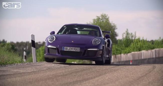 Porsche 991 GT3 RS Chris Harris