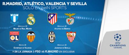 Sin acercamientos entre Movistar y Mediapro, sus rivales emitirán más partidos de Champions en directo