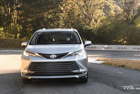 Toyota Sienna 2021 Minivan Hibrida Lanzamiento Mexico 11