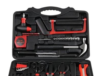 Oferta flash en el maletín de herramientas de 57 piezas Intey: hasta medianoche cuesta 29,59 euros en Amazon con envío gratis