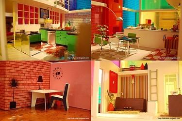 Casas de muñecas rabiosamente modernas