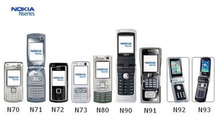 18 teléfon... Nokia N90