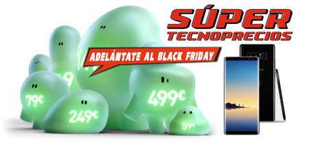 El Galaxy Note 8 por 899 euros y otras ofertas previas al Black Friday en El Corte Inglés
