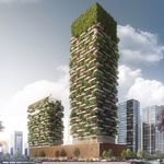 Los edificios con bosque incluido que se construirán en China