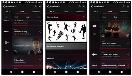 Las apps de Vodafone TV para móviles, tablets y PC