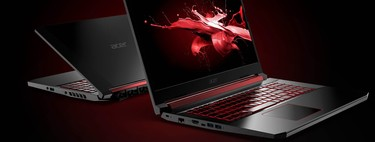 Portátil gaming Acer Nitro 5 de oferta en Amazon y PcComponentes: 715 euros con Core i7 8750H, 8GB RAM 1TB+128GB SSD y GTX1050