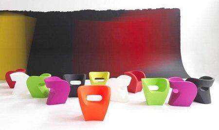 Colección de asientos Victoria&Albert, sorprendentemente colorista