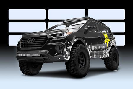 Hyundai y Rockstar Garage se unen para crear una versión off-road extrema de la Santa Fe