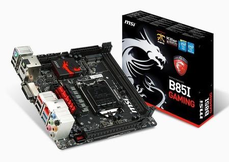 MSI revela nuevas motherboards GAMING con chipset B85 en factor mITX y mATX