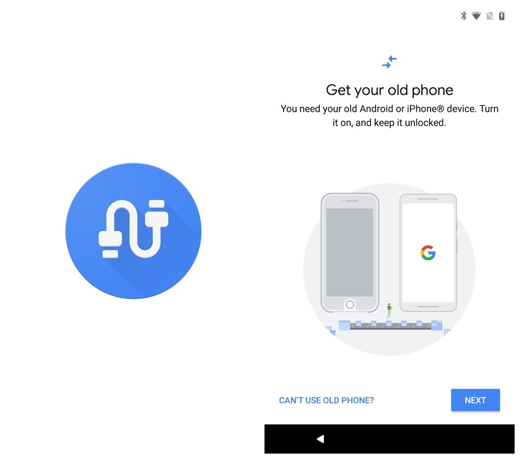 Google Data Transfer Tool
