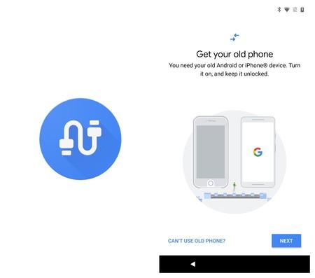 Google Data Transfer Tool