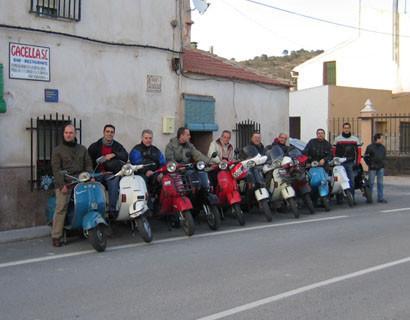 Quinta reunión informal scooterista de Alicante