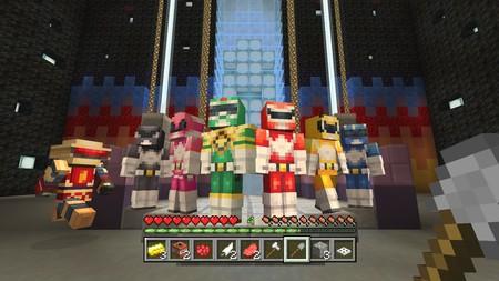 Es hora de metamorfosearse en Minecraft con sus skins de los Power Rangers y su nuevo minijuego