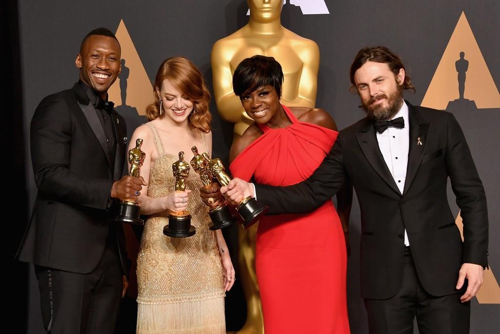 Los actores ganadores de los Oscars 2017