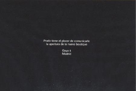 Prada abre nueva boutique en Madrid