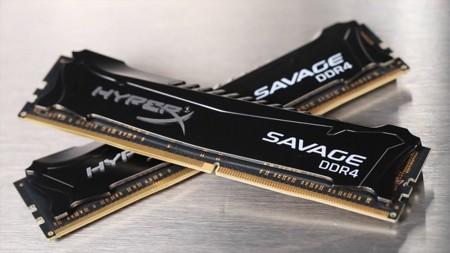 HyperX ya tiene memoria DDR4 en módulos Savage de hasta 3000 MHz