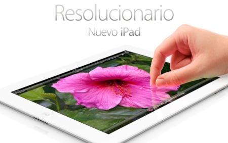Apple venderá el nuevo iPad en España a partir de las ocho de la mañana del próximo viernes