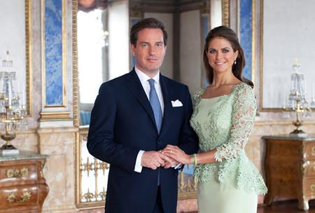 Anuncio del embarazo de la princesa Magdalena de Suecia