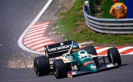 Gerhard Berger Benetton B186 GP Bélgica