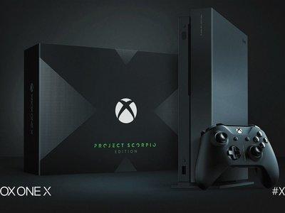 Se esperaba que el stock de Xbox One X Scorpio Edition durara al menos una semana... y según Microsoft se agotó en menos de un día