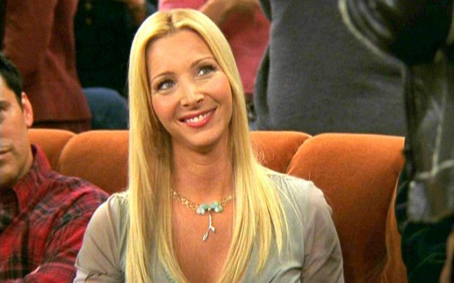 Phoebe Buffay protagonista de Friends