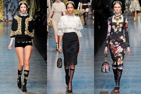 Tendencias Otoño-Invierno 2012/2013: encaje, brocado de reina y tapicería de dama