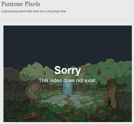 Pixels Pantone Gone