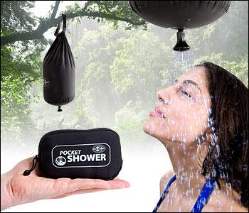 Pocket Shower, la ducha portátil