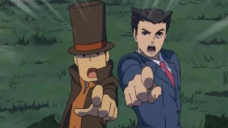 Professor Layton vs. Phoenix Wright: Ace Attorney llega a eShop en agosto 29