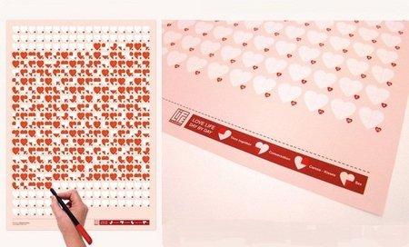 Love Life, Day by Day, calendario amoroso para San Valentín
