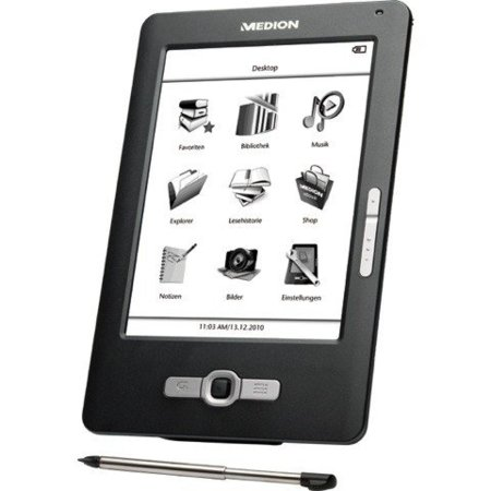 Medion MD86371, libro electrónico a tu alcance