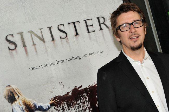 Scott Derrickson en el estreno de su última película, Sinister