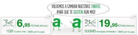 Amena rebaja sus tarifas para redondearlas y modifica el tráfico incluido en Amena en casa
