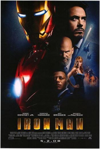 Póster definitivo de 'Iron Man'