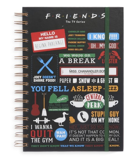 Kimball 543601 Dtr Friends Spiral Notebook Grade Roi Fr Ib Us Wk43 Price Eur3 50