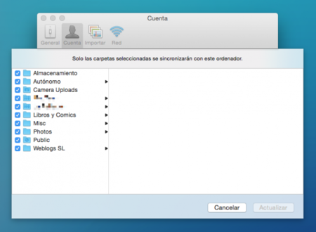Dropbox Sincronizacion