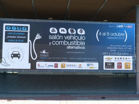 Salón del vehículo y combustible alternativos en Valladolid, una cita con los eléctricos, los híbridos, los coches de GLP...