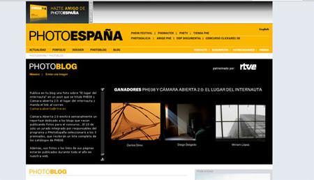 Ganadores del concurso Photoespaña 08– Cámara Abierta 2.0