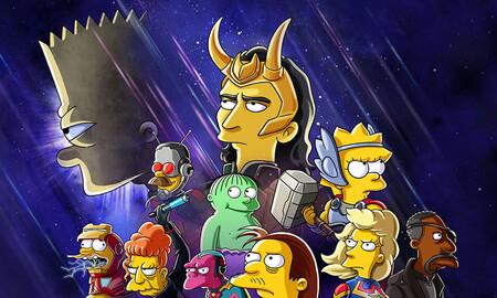'Los Simpson: La buena, el malo y Loki': un curioso crossover Marvel en Disney+ que queda por debajo del resto de cortometrajes de la serie