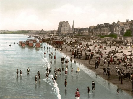 17bathing Scotland C1890 1900