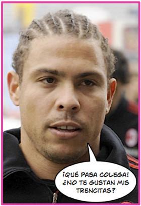 Ronaldo cambia de look y anuncia crecepelo