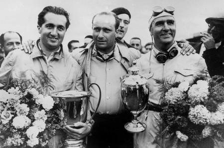 Fangio Farina Ascari F1 1950