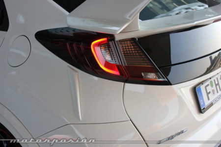 Honda Civic Type R 2015 Prueba A 220